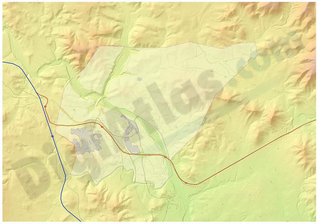 Algar de Palancia map