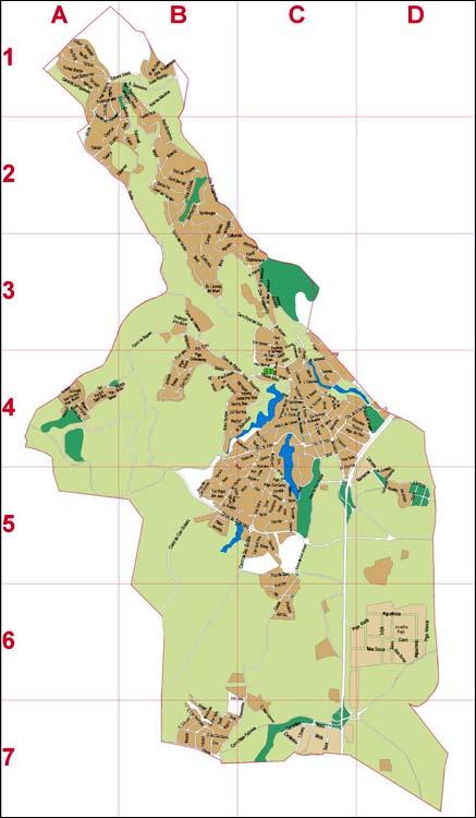 Ametlla del Valles (Barcelona, Spain) - city map