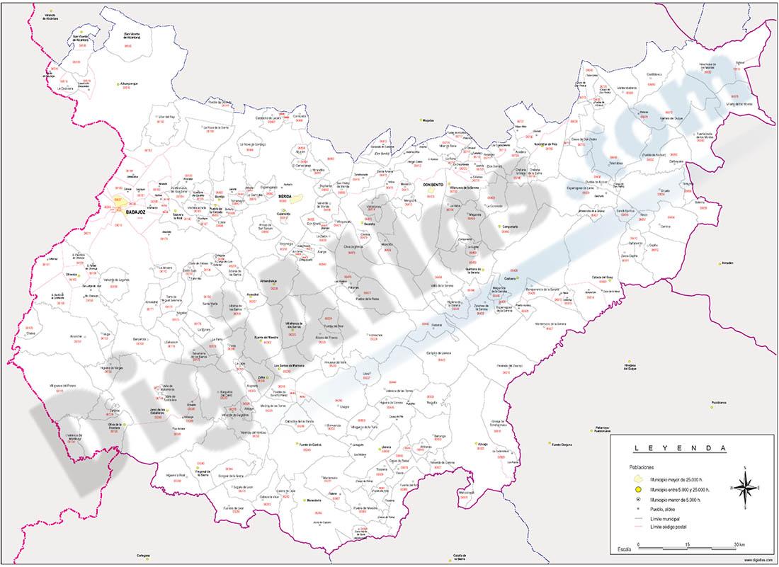 Mapas vectoriales de espa a y del mundo planos callejeros for Codigo postal del barrio de salamanca en madrid