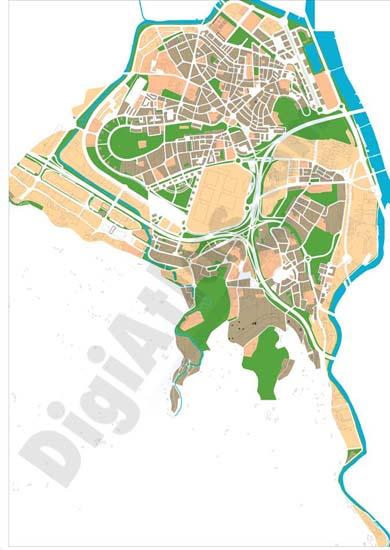 Vectorized Maps Digital Maps Increase Search Engine Traffic - Barakaldo map
