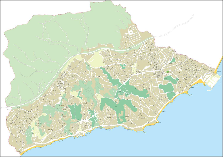 Benalmadena - city map