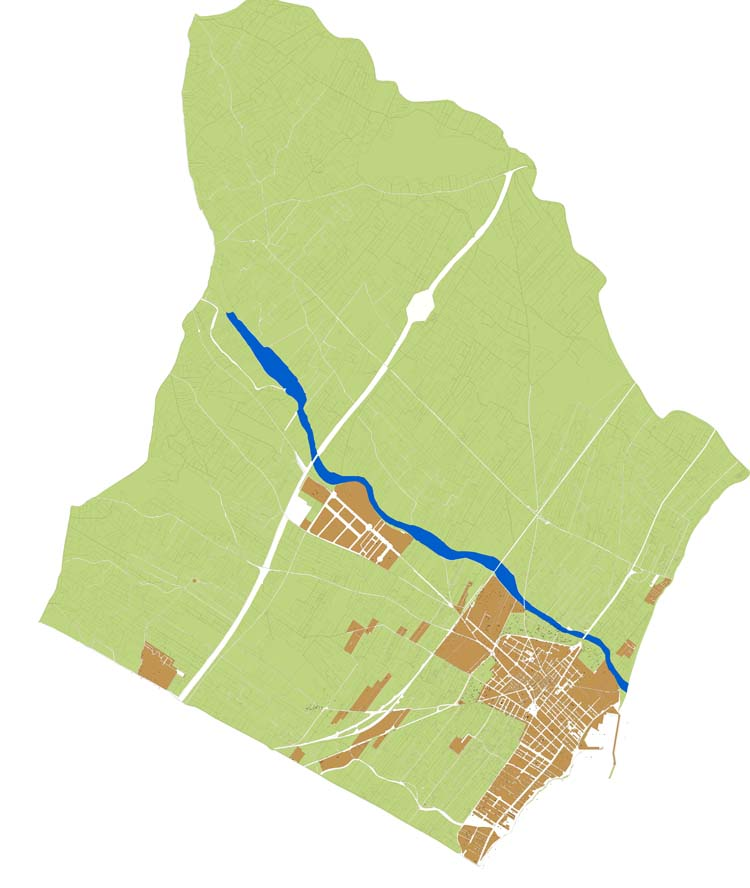 Benicarló - plano callejero