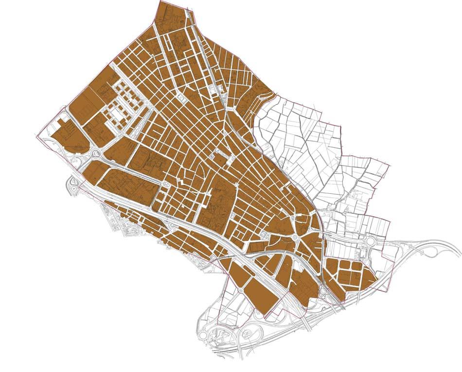 Burjassot (Burjasot) - plano callejero