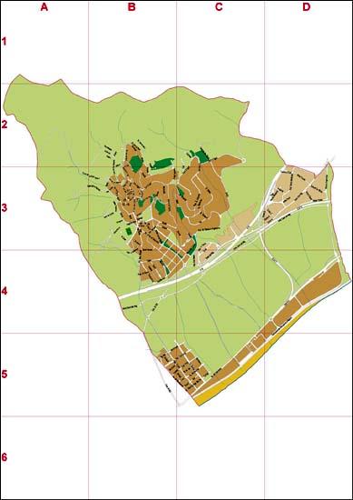 Cabrera de Mar (Barcelona, Spain) - city map