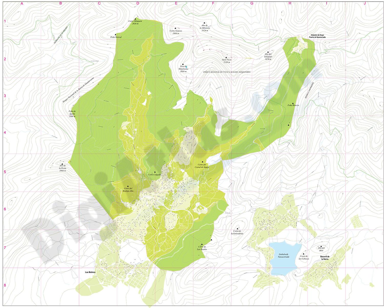 Cercedilla - city map