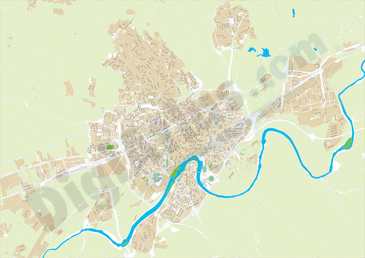 Córdoba - plano callejero