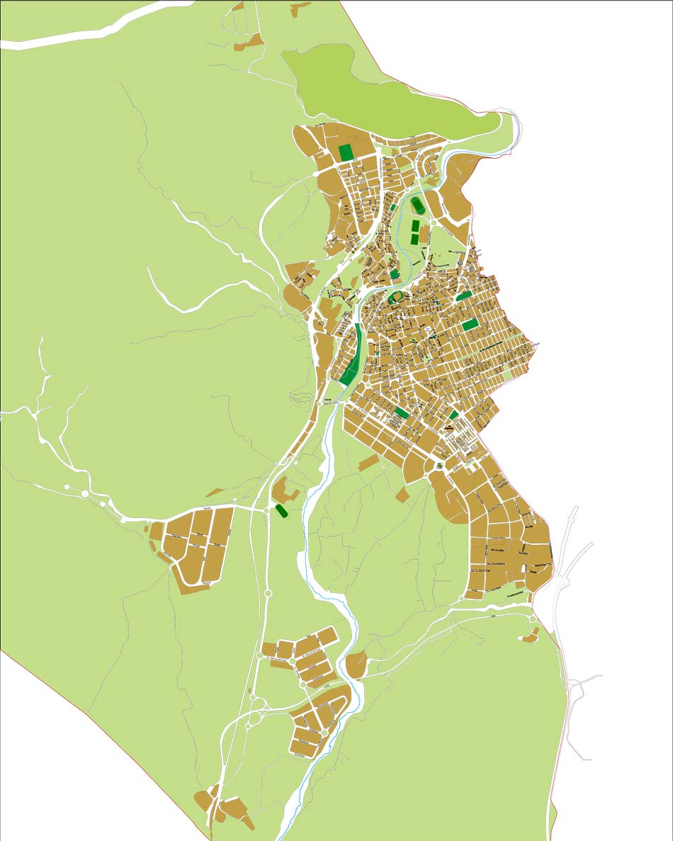 Elda (Alicante) - city map