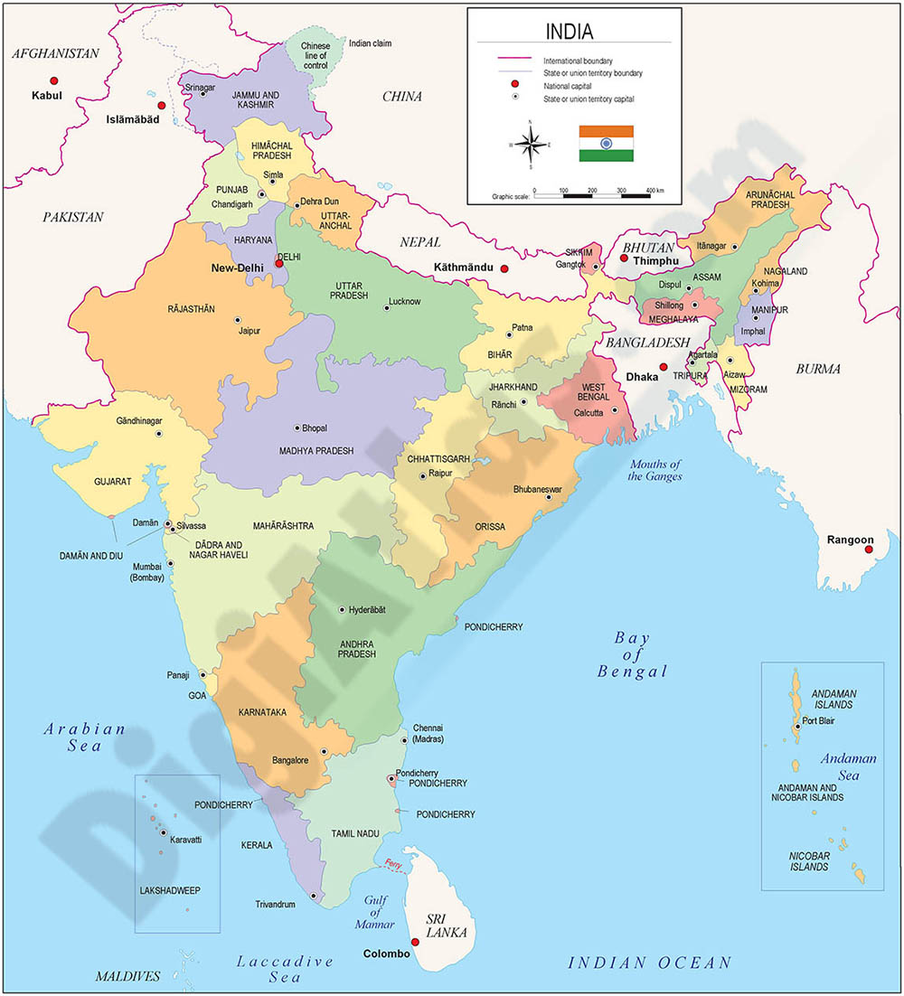 Map of India