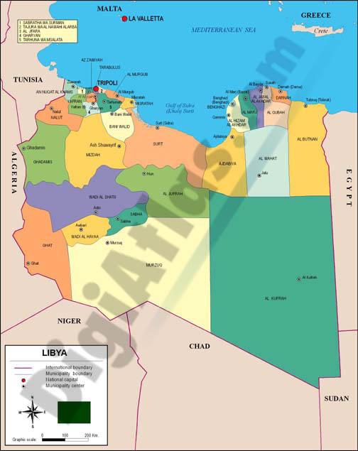 libia mapa Mapa de Libia libia mapa