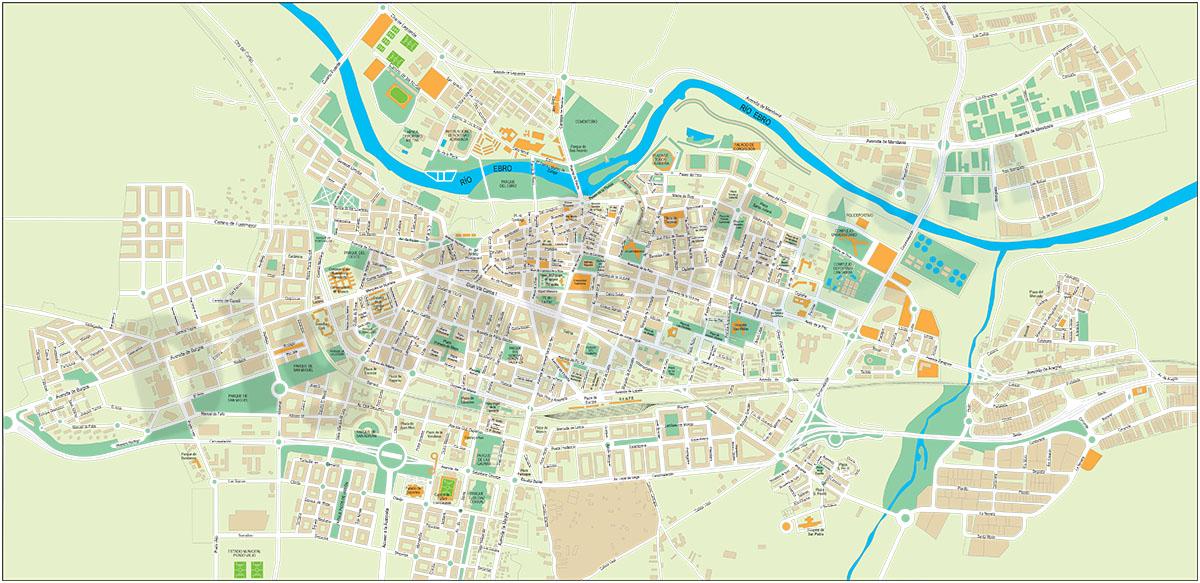 Logroño (La Rioja) - city map