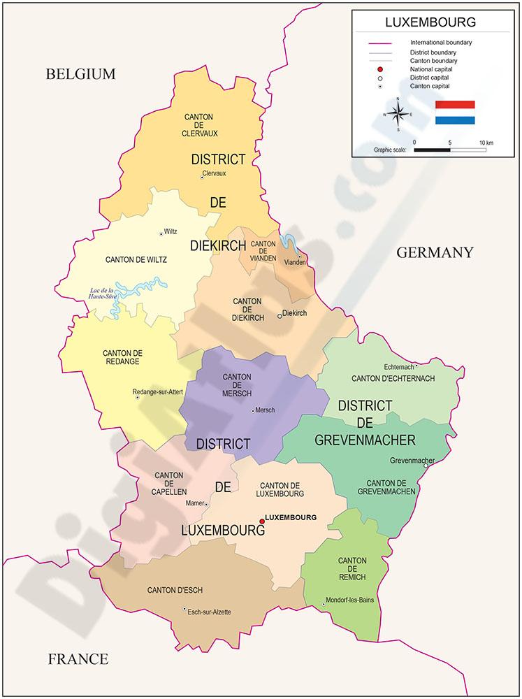 mapa luxemburgo pais Mapa de Luxemburgo mapa luxemburgo pais