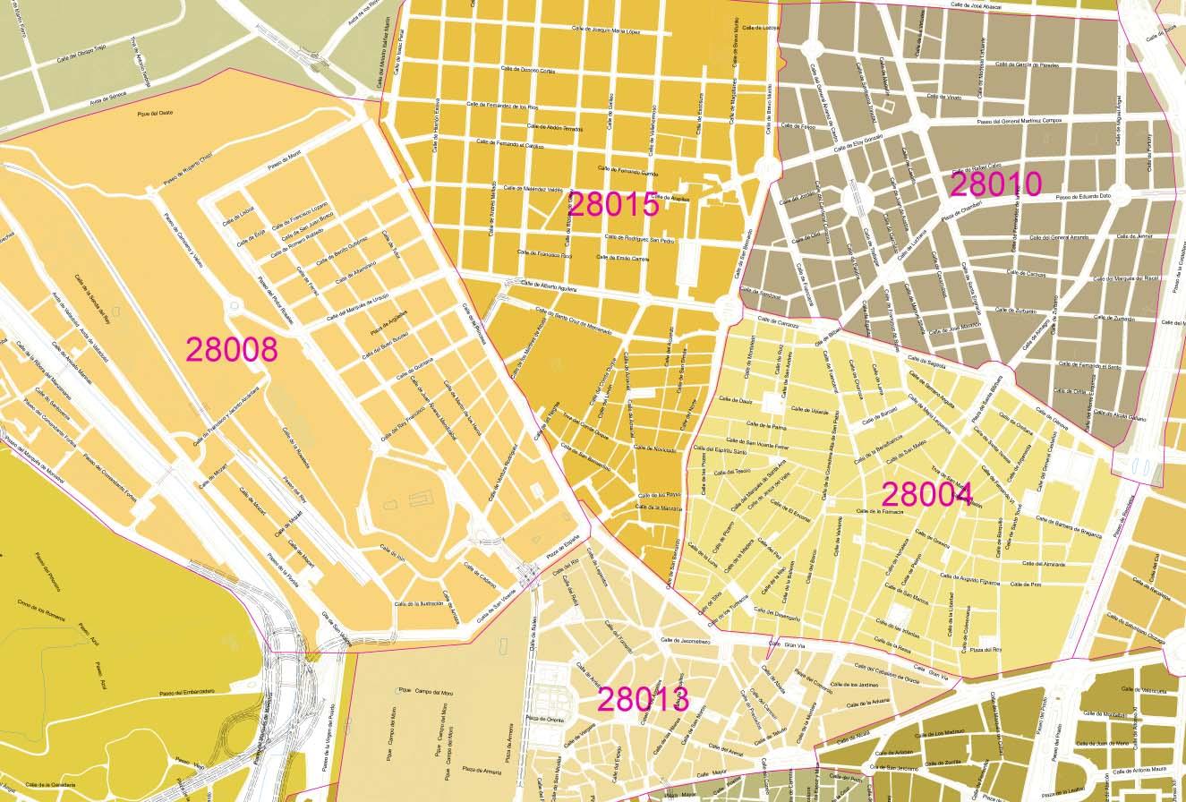 Digiatlas mapas digitales for Ales code postal