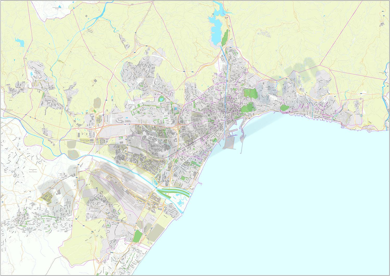 Málaga - plano callejero