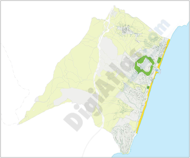 Manilva - city map