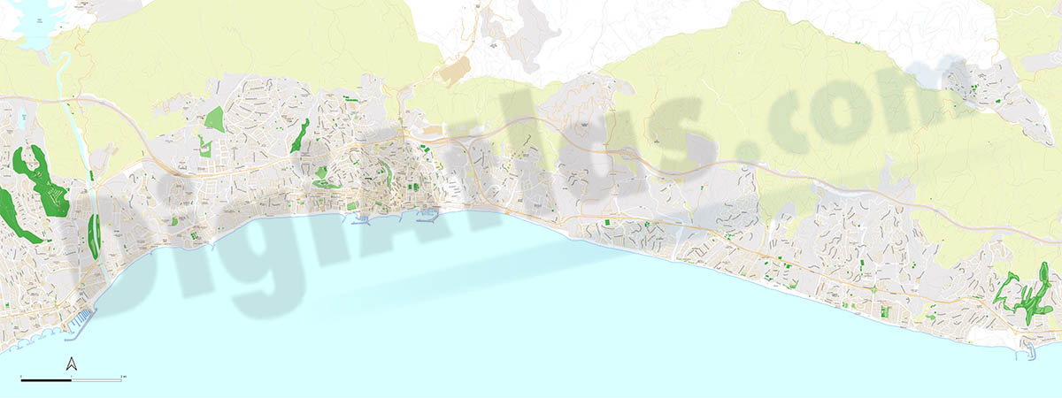 Marbella - residential areas
