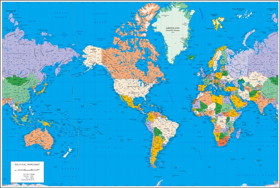 World Map America Centered Maps Usa Map Images