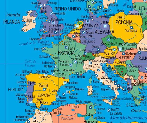 mapa mundi malta America centered worldmap with sea ports and airports mapa mundi malta