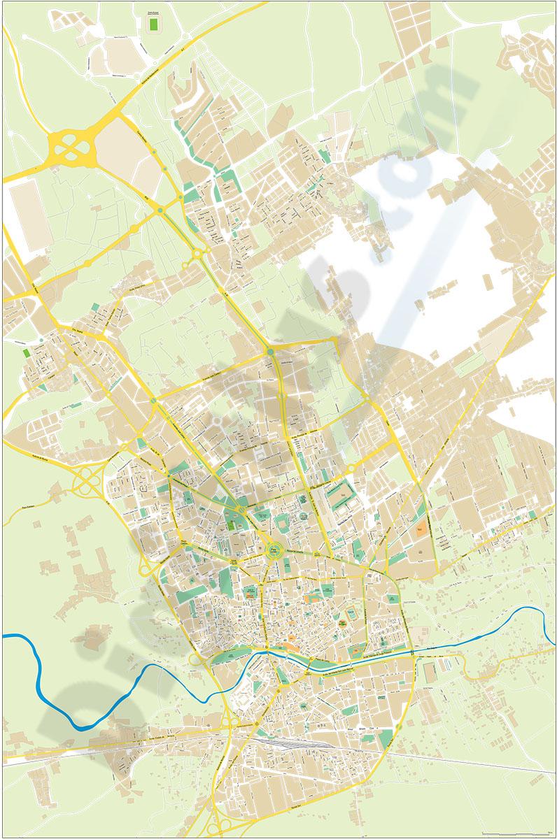 Murcia - plano callejero