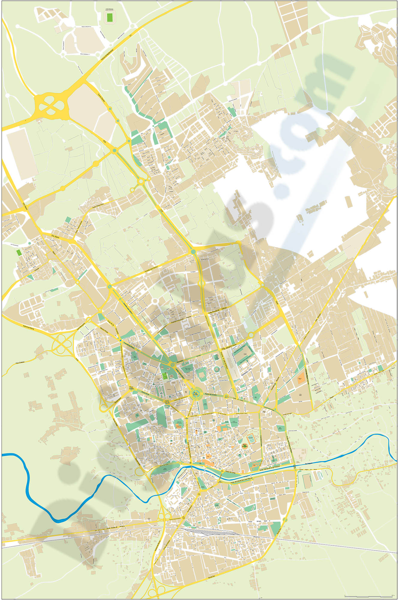 Murcia city map