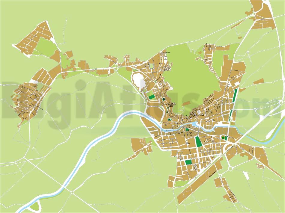 Orihuela - plano callejero