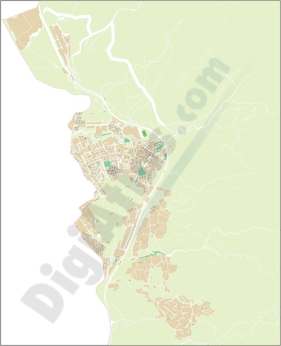 Petrer - Petrel (Alicante) - plano callejero