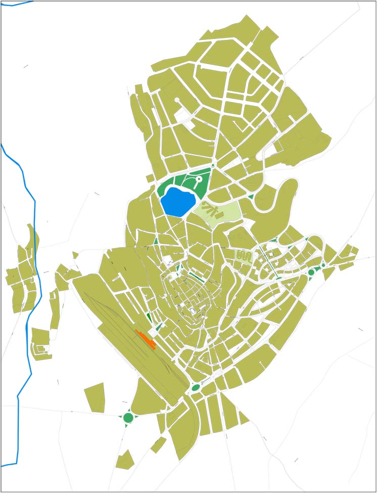 Puigcerda - city map