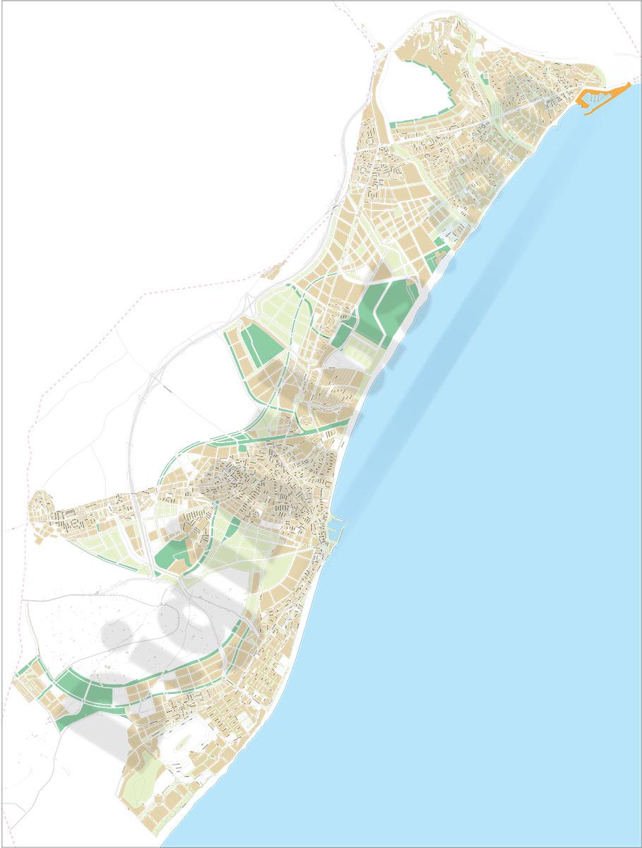 Roquetas de Mar - city map