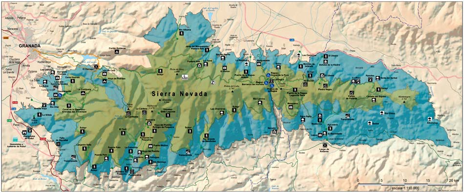 sierra nevada piste map pdf