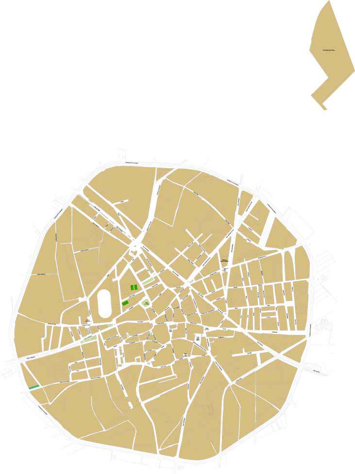 Santa María del Páramo - city map