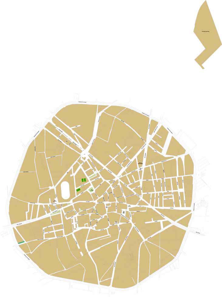 Santa María del Páramo - city map
