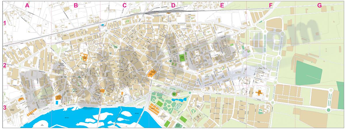Talavera de la Reina - city map