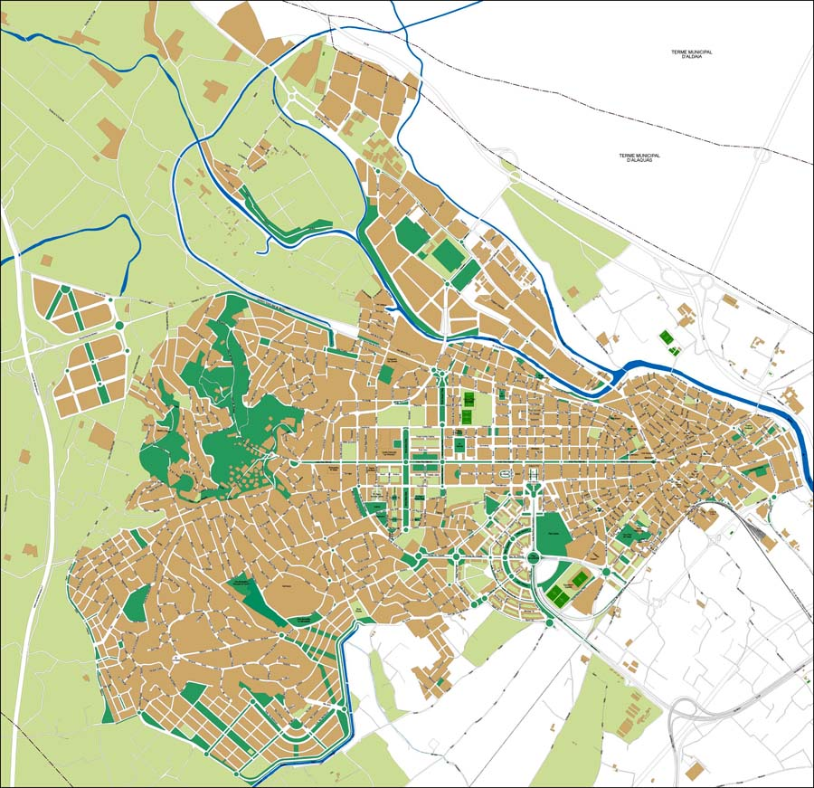 Torrent city map