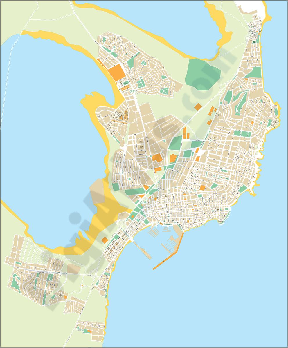 Torrevieja (Alicante) - plano callejero