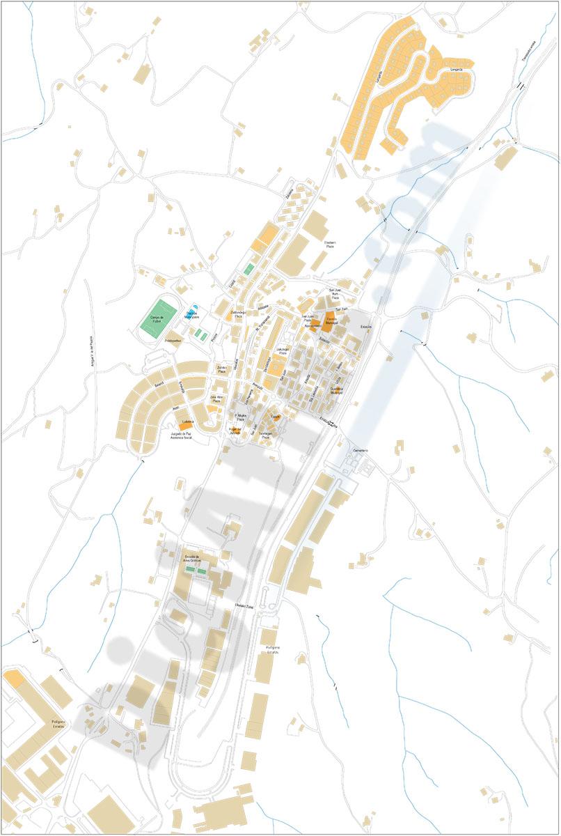 Urnieta (Gipuzkoa) - plano callejero