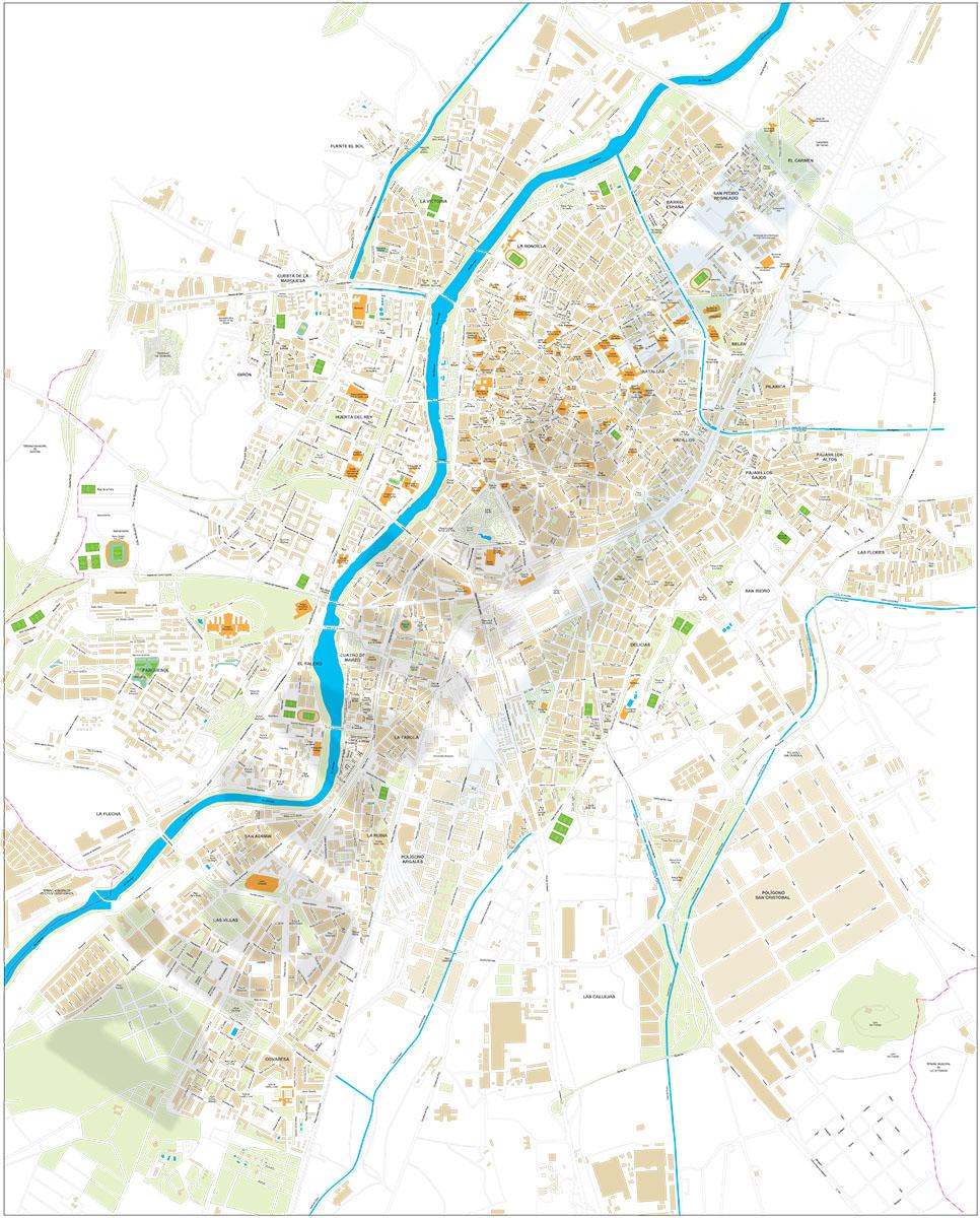 Valladolid city map