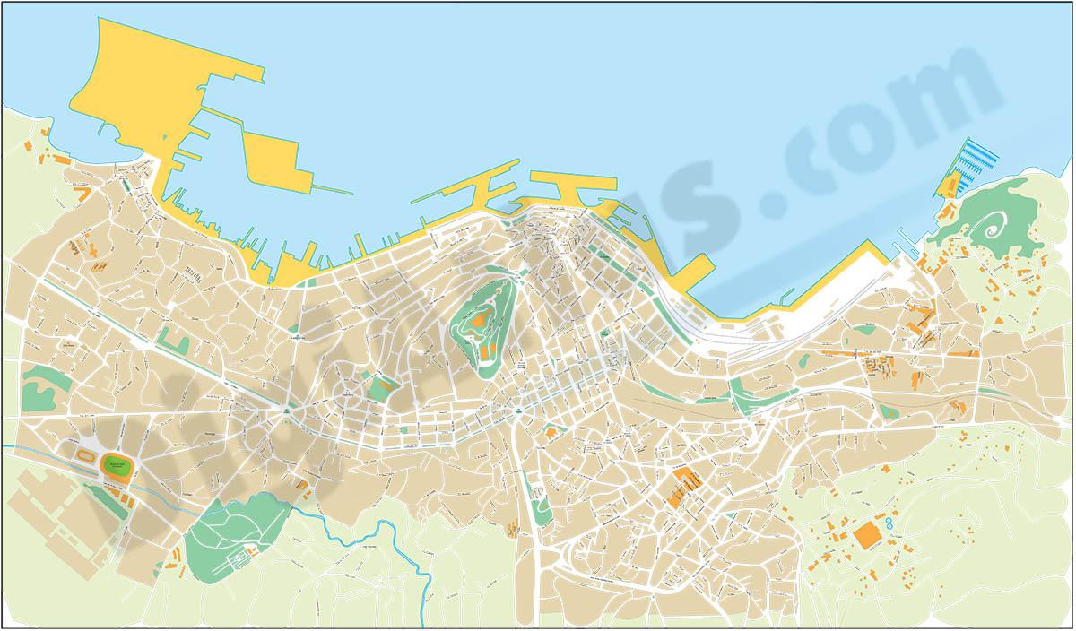 Vigo - plano callejero