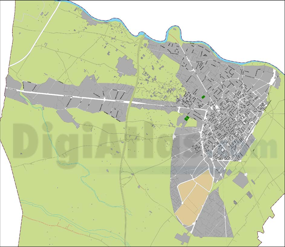 Villareal, Vila-real - city map