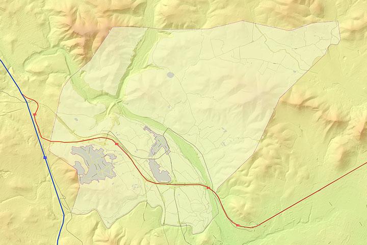 Algar de Palancia - mapa del municipio