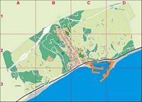 Arenys de Mar (Barcelona, Spain) - city map
