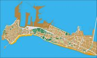 Cadiz- city map