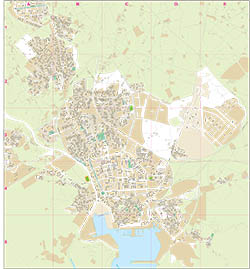 Cartagena - city map