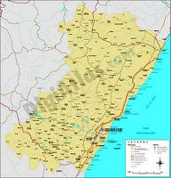 Map of Castellon
