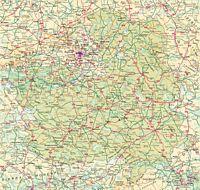 Map of Castile-La Mancha