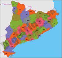 Mapas comarcales de Comunidades Autónomas