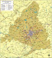 Mapa de la Cdad. de Madrid