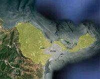 Ceuta - mapa de la ciudad autónoma con los códigos postales.