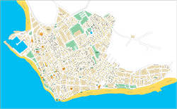 Chipiona (Cadiz) - city map