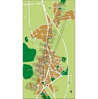 Cocentaina (Alicante) - city map