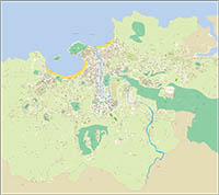 Donostia (Basque Country) city map