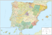 mapas de españa, mapas de autonomias y mapas provincias